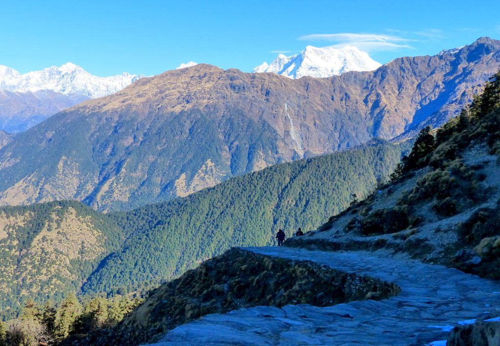View of Himalayas -_Tungnath Trail, Uttarakhand